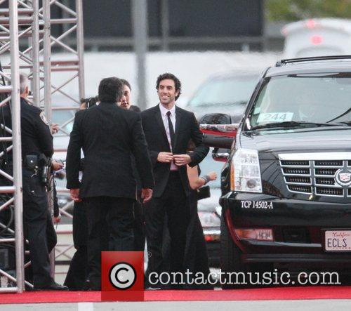 Sacha Baron Cohen, Golden Globe Awards and Beverly Hilton Hotel 2