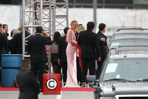 Charlize Theron, Golden Globe Awards, Beverly Hilton Hotel