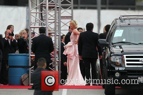 Charlize Theron, Golden Globe Awards and Beverly Hilton Hotel 10