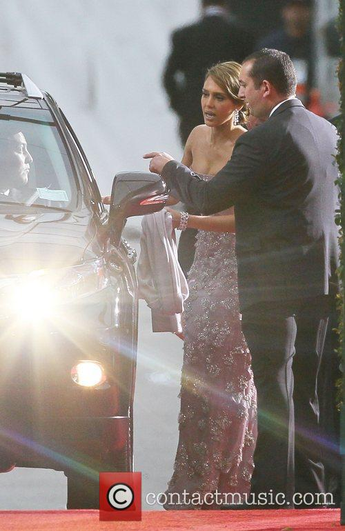 Jessica Alba, Cash Warren, Golden Globe Awards and Beverly Hilton Hotel 7