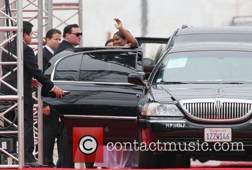 Octavia Spencer, Golden Globe Awards and Beverly Hilton Hotel 2
