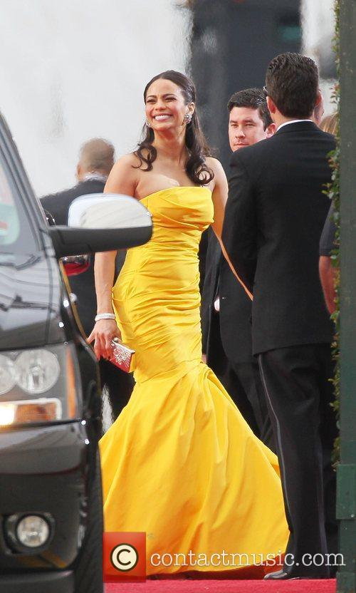Paula Patton, Golden Globe Awards and Beverly Hilton Hotel 2