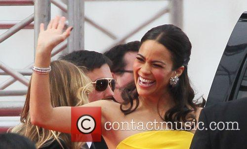 Paula Patton, Golden Globe Awards and Beverly Hilton Hotel 3