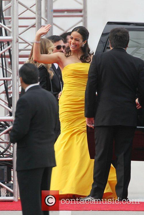Paula Patton, Golden Globe Awards and Beverly Hilton Hotel 4