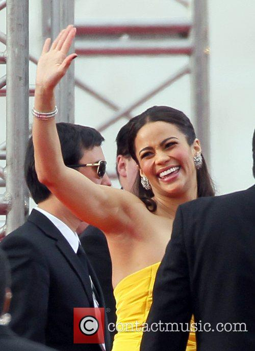 Paula Patton, Golden Globe Awards and Beverly Hilton Hotel 1