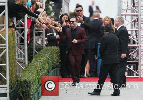 Ricky Gervais, Golden Globe Awards and Beverly Hilton Hotel 9