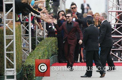 Ricky Gervais, Golden Globe Awards and Beverly Hilton Hotel 10