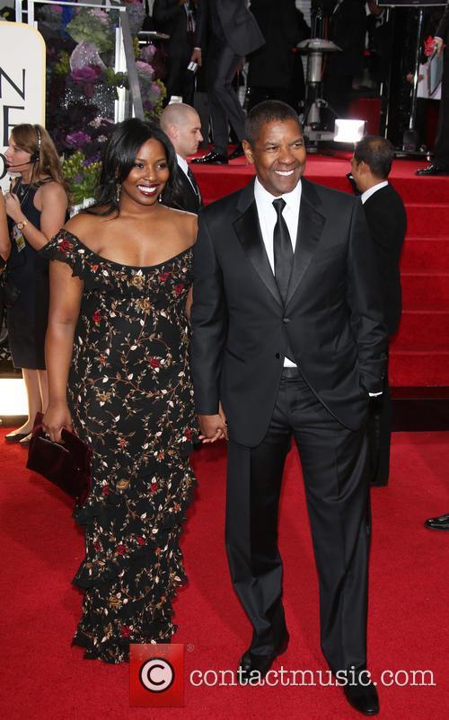 Denzel Washington; Olivia Washington 70th Annual Golden Globe...