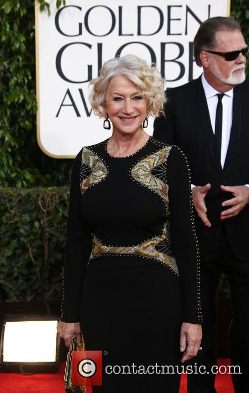 Helen Mirren and Beverly Hilton Hotel 3