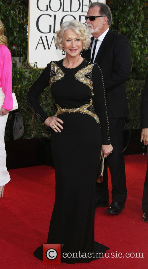 Helen Mirren and Beverly Hilton Hotel 1
