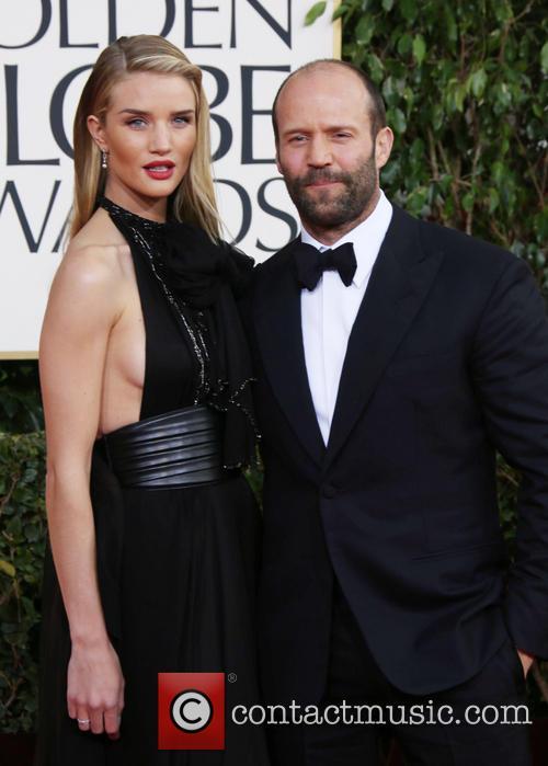 Jason Statham, Rosie Huntington-whiteley and Beverly Hilton Hotel 4