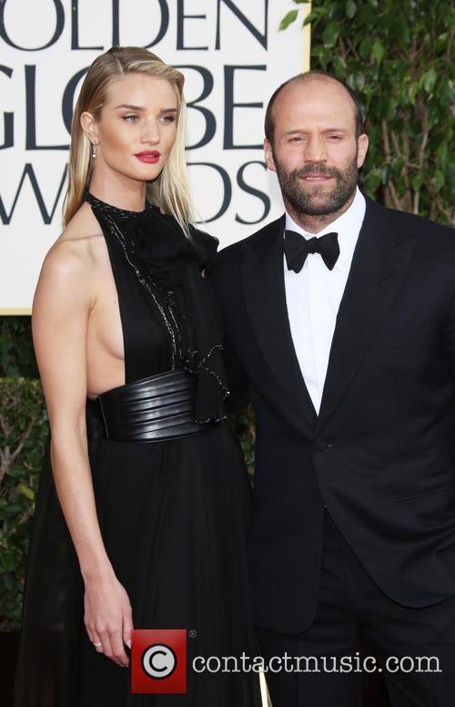 Jason Statham, Rosie Huntington-Whiteley, Beverly Hilton Hotel