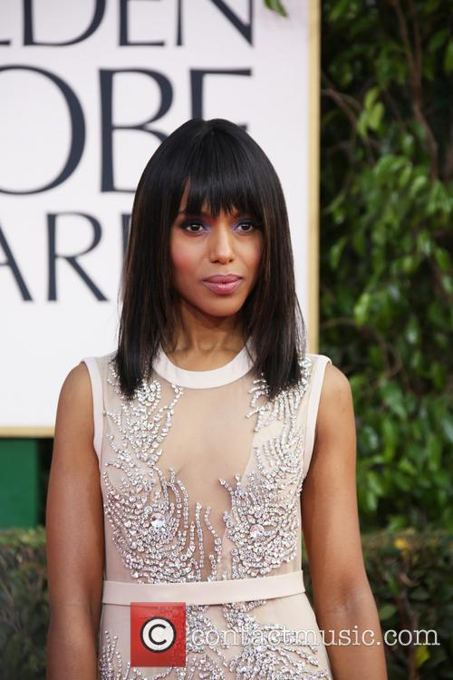 Kerry Washington and Beverly Hilton Hotel 1