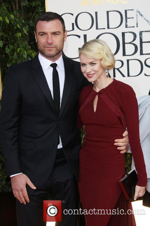 Liev Schreiber, Naomi Watts and Beverly Hilton Hotel 1