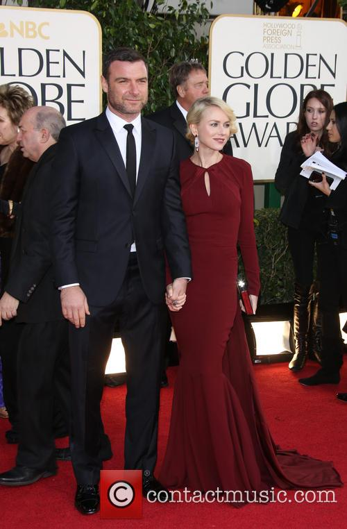 Liev Schreiber, Naomi Watts and Beverly Hilton Hotel 2