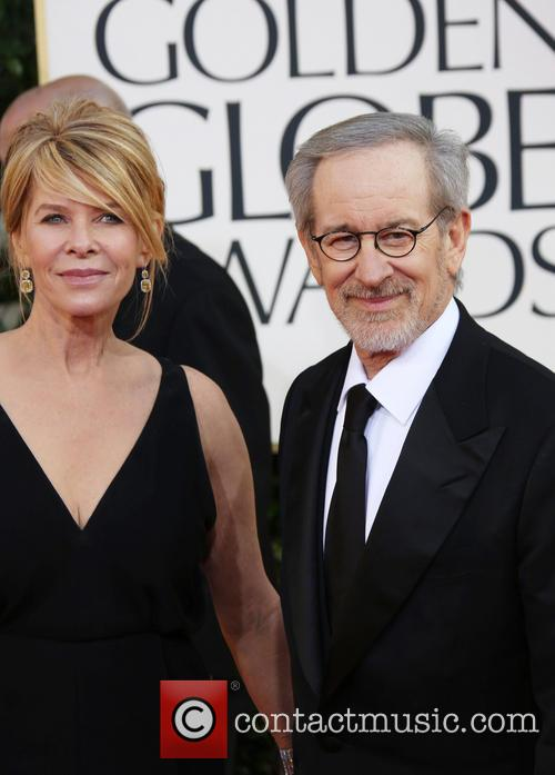 Steven Spielberg, Kate Capshaw and Beverly Hilton Hotel 3