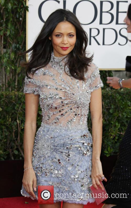 Thandie Newton and Beverly Hilton Hotel 5