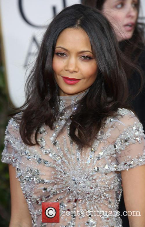 Thandie Newton and Beverly Hilton Hotel 3