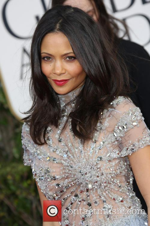 Thandie Newton, Beverly Hilton Hotel
