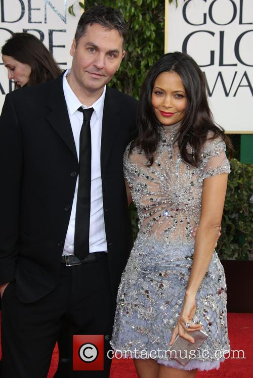 Thandie Newton, Ol Parker and Beverly Hilton Hotel 3