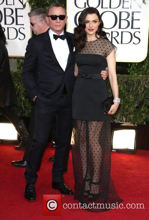 Daniel Craig, Rachel Weisz and Beverly Hilton Hotel 3