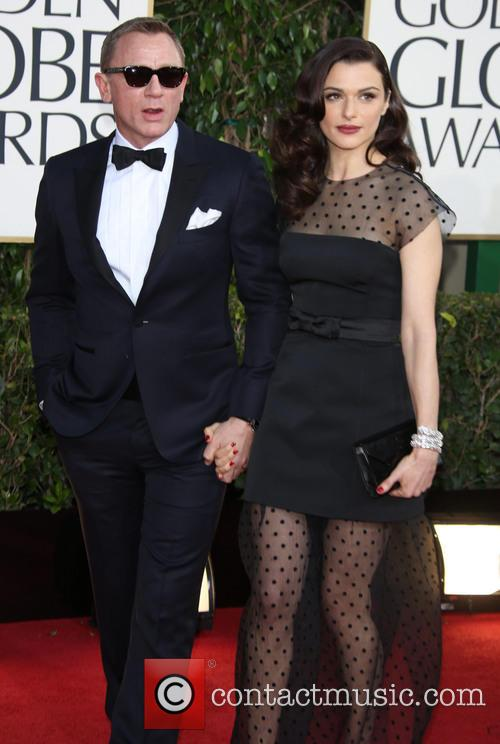Daniel Craig, Rachel Weisz and Beverly Hilton Hotel 2