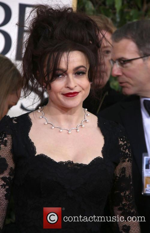 Helena Bonham Carter and Beverly Hilton Hotel 1