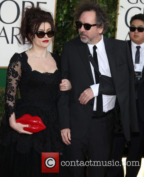Helena Bonham Carter, Tim Burton and Beverly Hilton Hotel 3