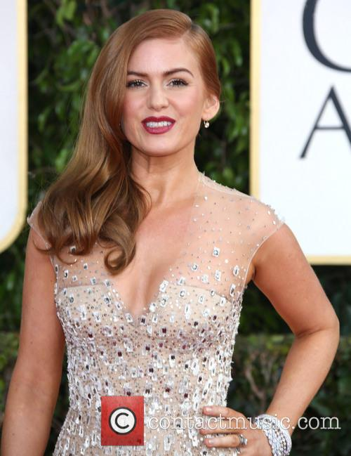 Isla Fisher and Beverly Hilton Hotel 1