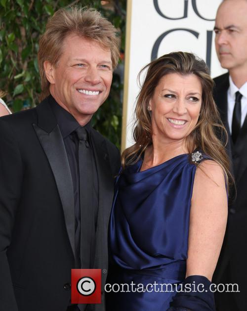 Jon Bon Jovi, Dorothea Hurley and Beverly Hilton Hotel 7