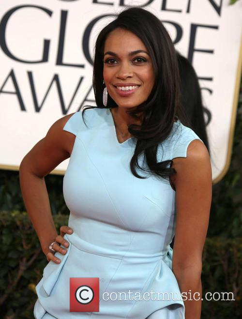 Rosario Dawson and Beverly Hilton Hotel 9