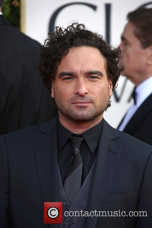 Johnny Galecki and Beverly Hilton Hotel 10