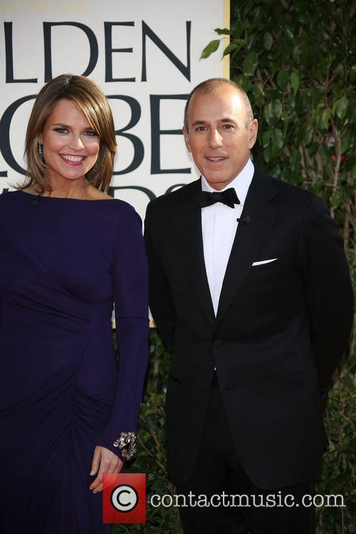 Matt Lauer, Savannah Guthrie and Beverly Hilton Hotel 5