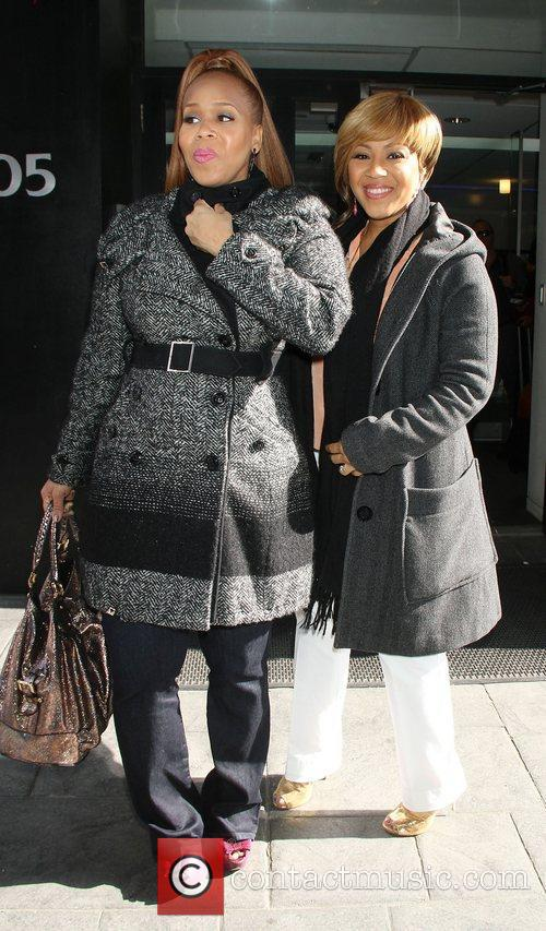 Mary Mary at 'Good Day New York' to...
