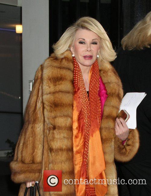 Joan Rivers and Fox Studios 2