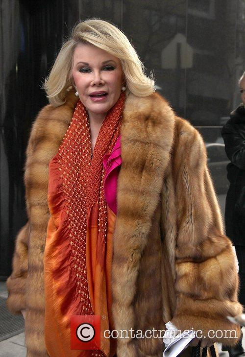 Joan Rivers and Fox Studios 1