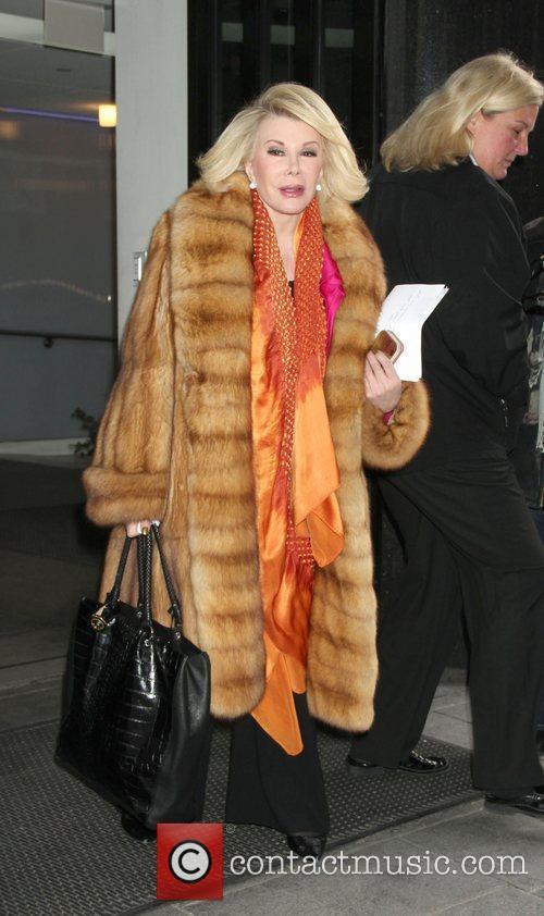 Joan Rivers and Fox Studios 2
