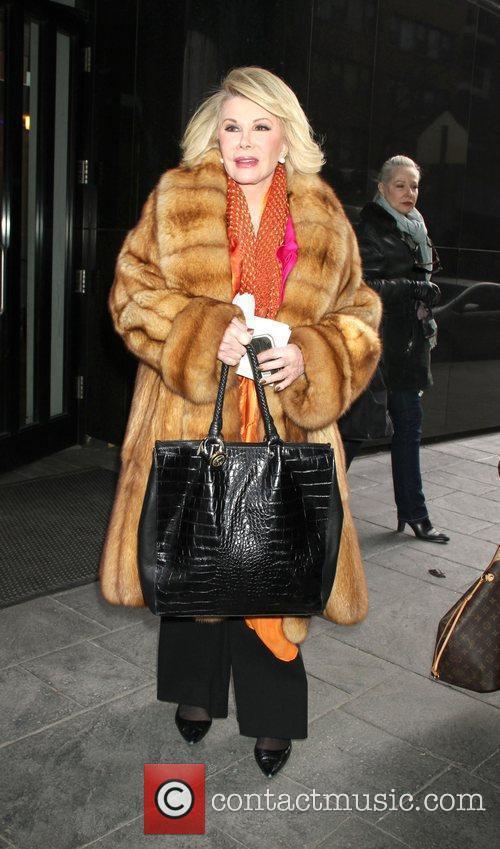 Joan Rivers and Fox Studios 3