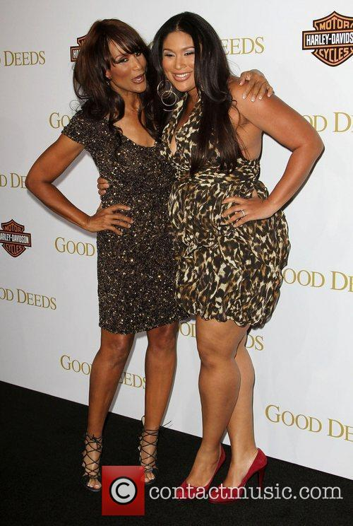 Beverly Johnson and her Daughter Lionsgate's Good Deeds...
