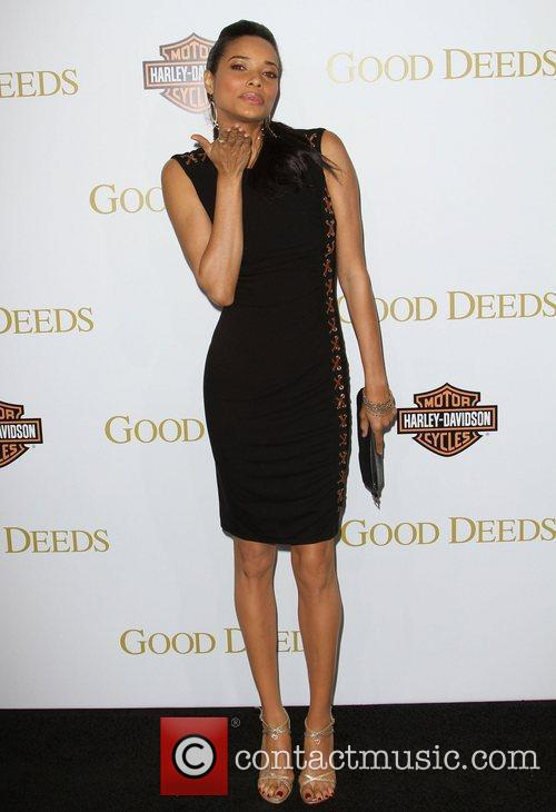 Rochelle Aytes Lionsgate's Good Deeds Premiere held at...