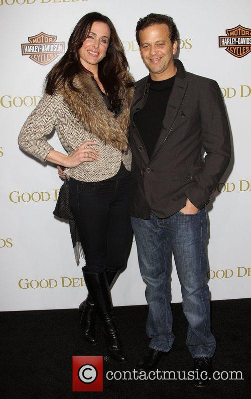 Aaron Zigman and Guest Lionsgate's Good Deeds Premiere...