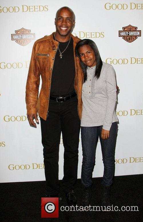 Barry Bonds and Aisha Bonds Lionsgate's Good Deeds...