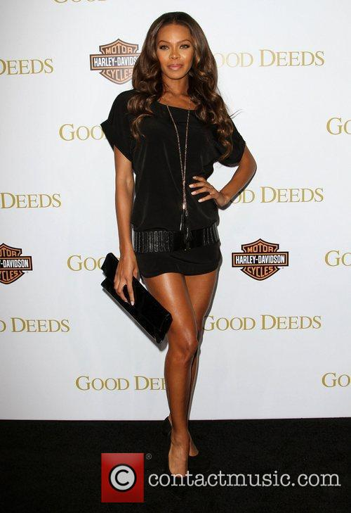 Crystle Stewart Lionsgate's Good Deeds Premiere held at...