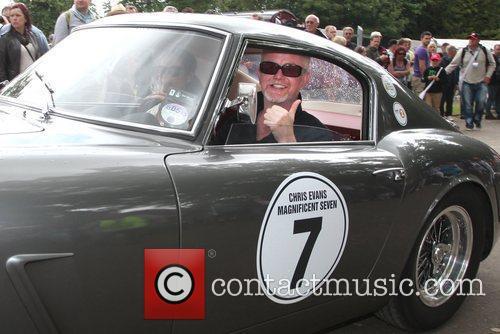 Chris Evans  Goodwood Festival of Speed -...