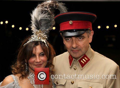 Rowan Atkinson Goodwood Revival 2012 at the Goodwood...