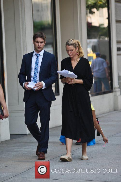 Chace Crawford and Blake Lively 7