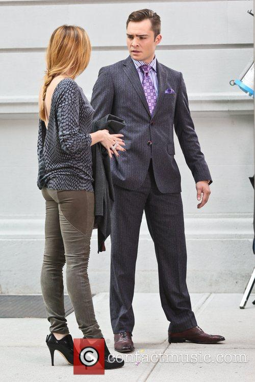 Kaylee Defer and Ed Westwick 2