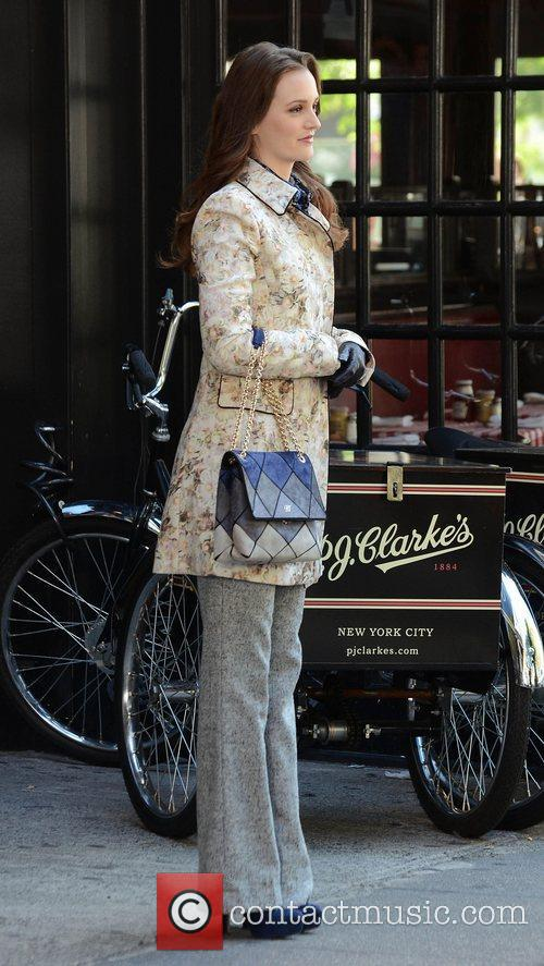 Leighton Meester, Gossip Girl, Midtown, Manhattan