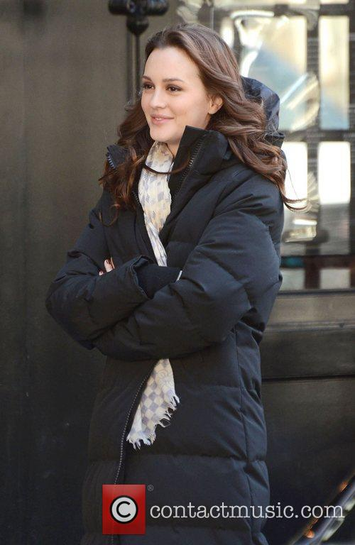 Leighton Meester, Gossip Girl, Midtown and Manhattan 1