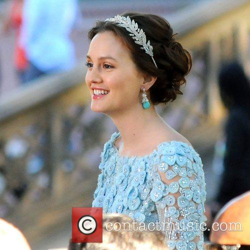 Leighton Meester and Central Park 11